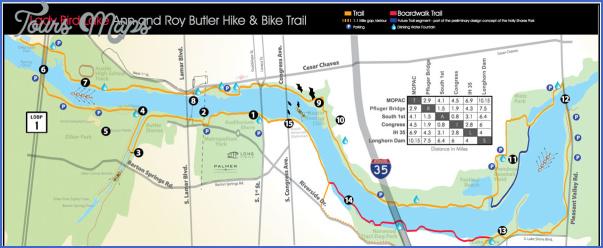 austin hike and bike trail map 3 Austin Hike And Bike Trail Map