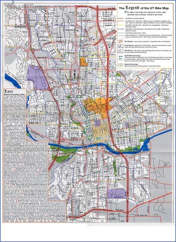 austin hike and bike trail map 9 Austin Hike And Bike Trail Map