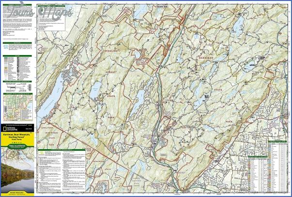 bear mountain hiking trail map 13 Bear Mountain Hiking Trail Map
