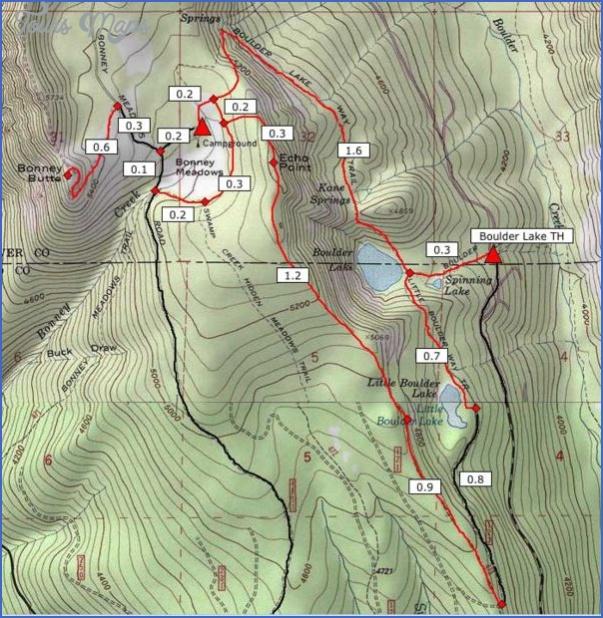 boulder hiking trails map 3 Boulder Hiking Trails Map
