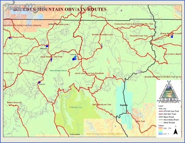 boulder hiking trails map 9 Boulder Hiking Trails Map