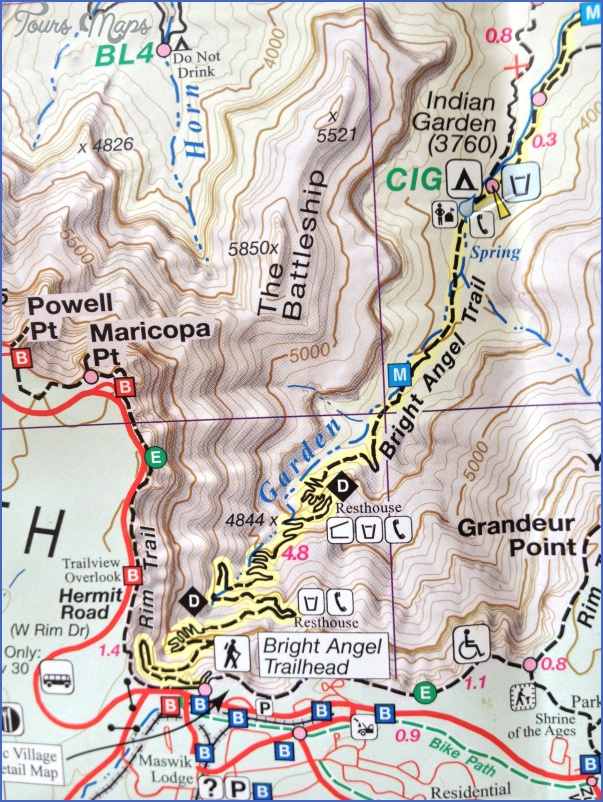 Day-hiking the Bright Angel Trail to Indian Garden in the Grand ...