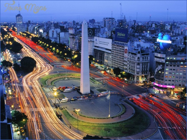 buenos aires argentina map tourist attractions 2 Buenos Aires Argentina Map Tourist Attractions