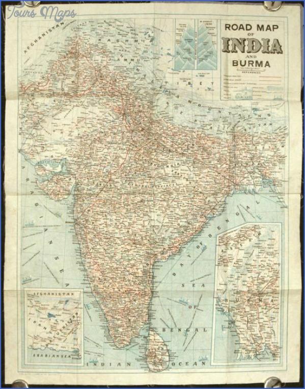 burma india map 6 Burma India Map