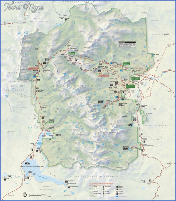 estes park hiking trails map 6 Estes Park Hiking Trails Map