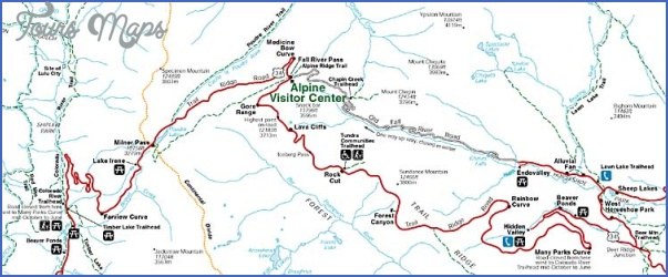 estes park hiking trails map 8 Estes Park Hiking Trails Map