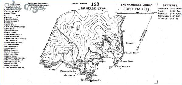 fort baker map san francisco 12 FORT BAKER MAP SAN FRANCISCO