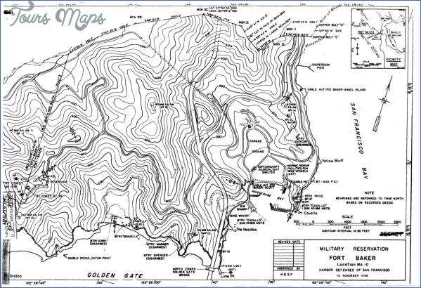 fort baker map san francisco 13 FORT BAKER MAP SAN FRANCISCO