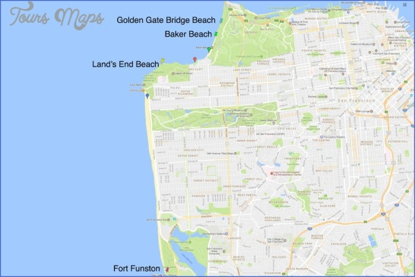fort baker map san francisco 4 FORT BAKER MAP SAN FRANCISCO