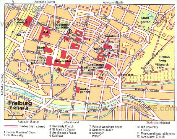 frankfurt map tourist attractions 14 Frankfurt Map Tourist Attractions