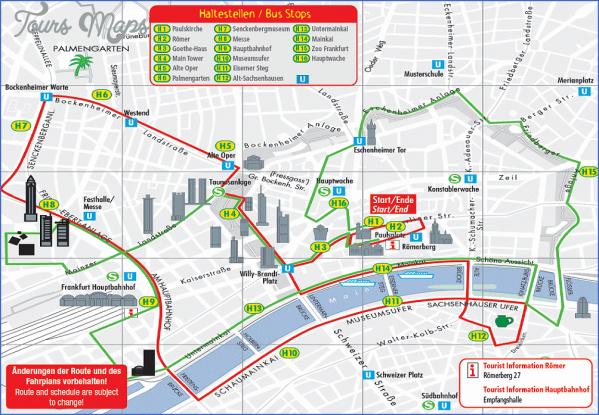 frankfurt map tourist attractions 4 Frankfurt Map Tourist Attractions