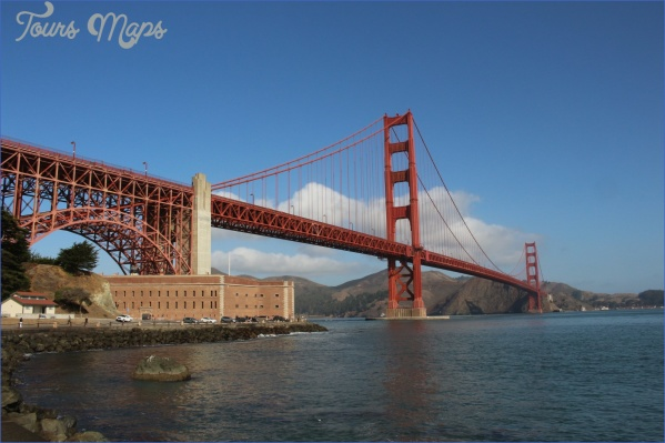 golden gate bridge attractions map 11 Golden Gate Bridge Attractions Map