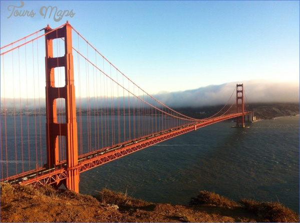 golden gate bridge attractions map 13 Golden Gate Bridge Attractions Map