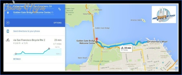 golden gate bridge map tourist attractions 4 Golden Gate Bridge Map Tourist Attractions