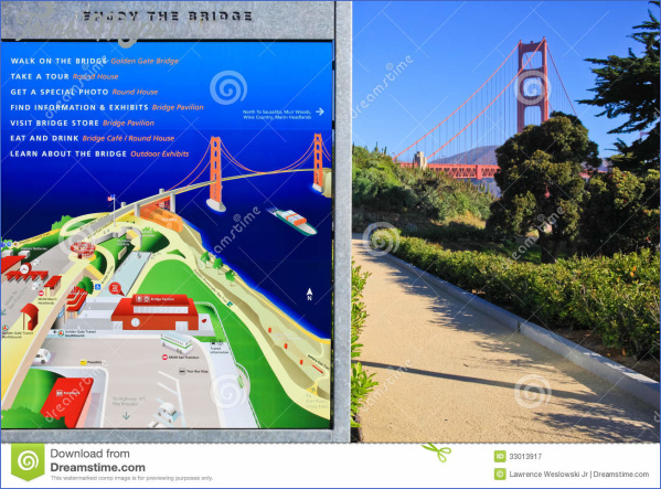 golden gate bridge map 9 Golden Gate Bridge Map