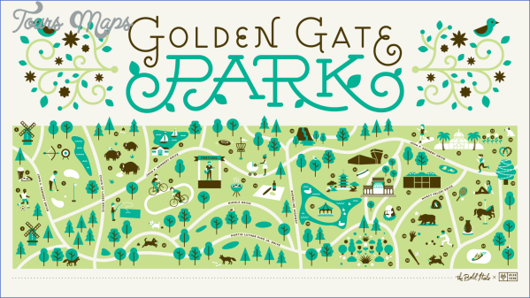 golden gate park map san francisco 9 GOLDEN GATE PARK MAP SAN FRANCISCO