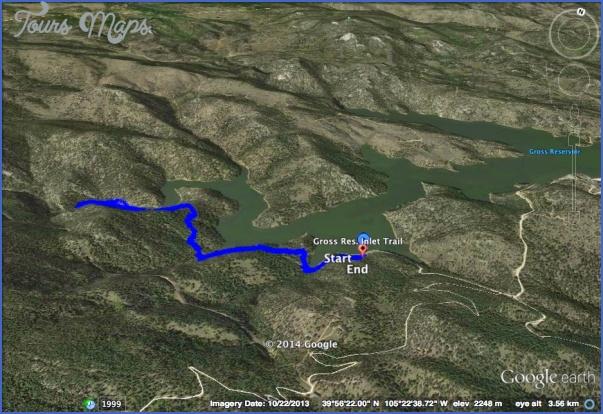 google maps hiking trails 2 Google Maps Hiking Trails
