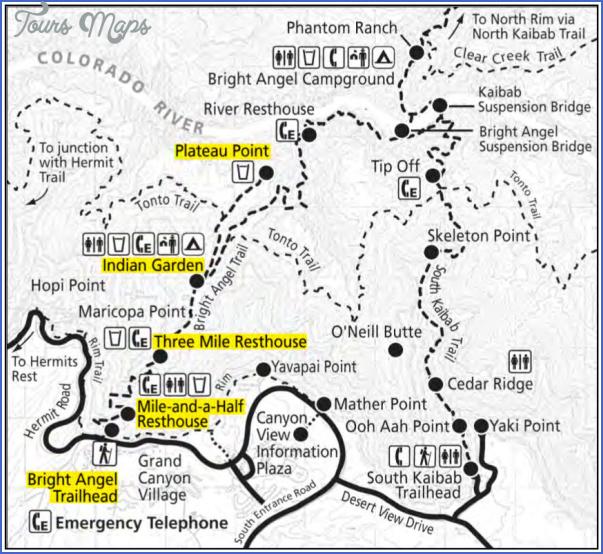 Grand Canyon Maps | NPMaps.com - just free maps, period.