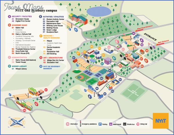 greenwich campus map 8 Greenwich Campus Map