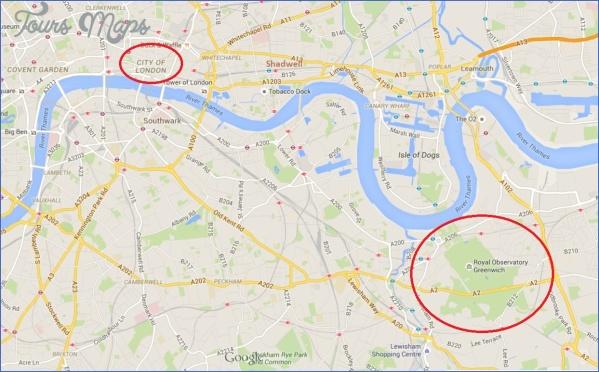 greenwich london map 0 Greenwich London Map