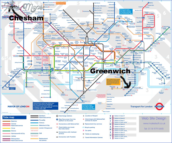 greenwich london map 14 Greenwich London Map