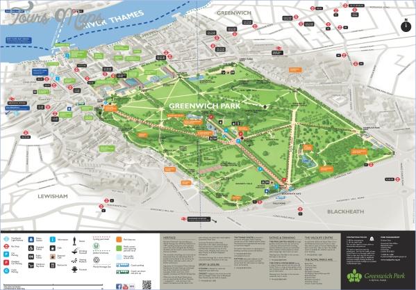 greenwich london map 3 Greenwich London Map