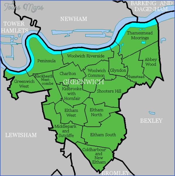 greenwich map 1 Greenwich Map