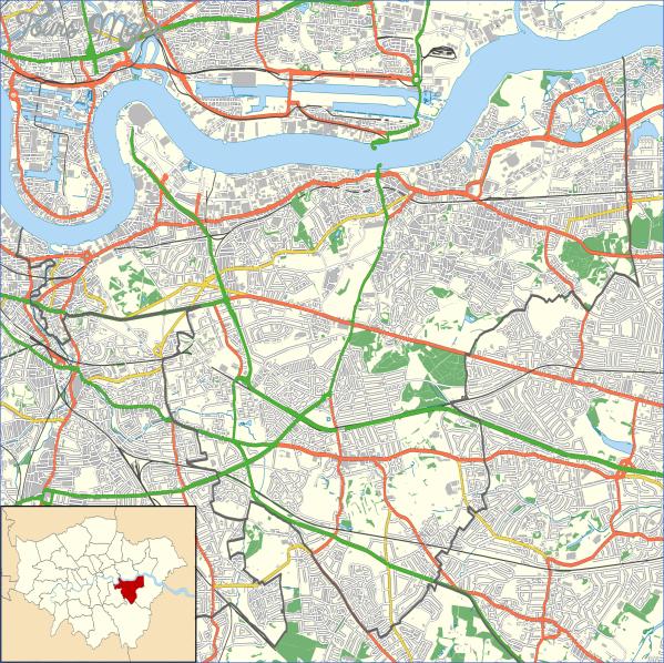 greenwich map 11 Greenwich Map