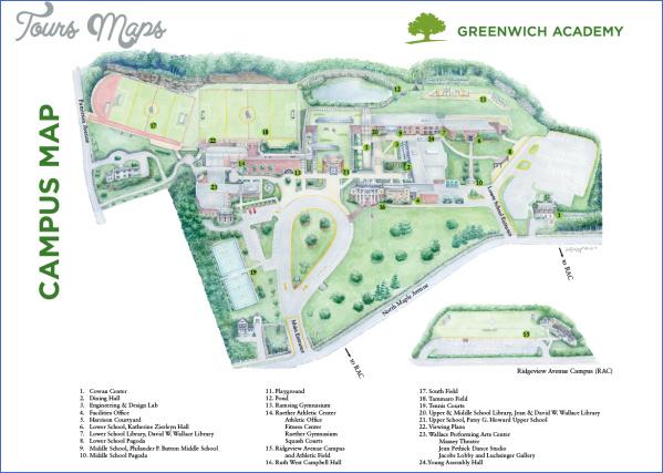 greenwich map 14 Greenwich Map
