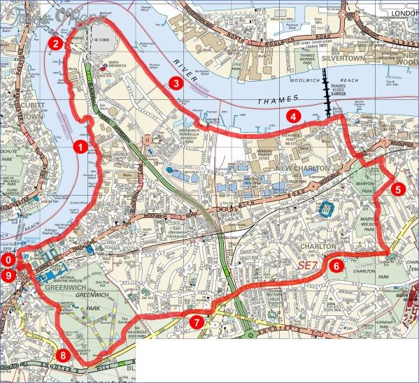 greenwich map 6 Greenwich Map