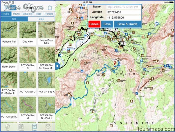 hiking topo maps 1 Hiking Topo Maps