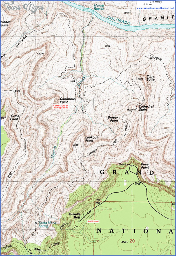 hiking topo maps 10 Hiking Topo Maps