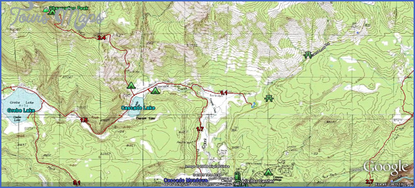 hiking topo maps 13 Hiking Topo Maps