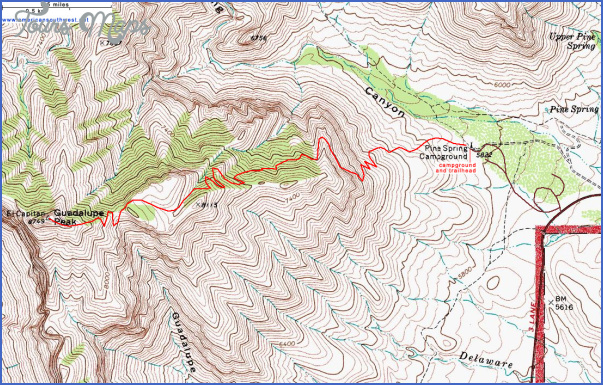 hiking topo maps 6 Hiking Topo Maps
