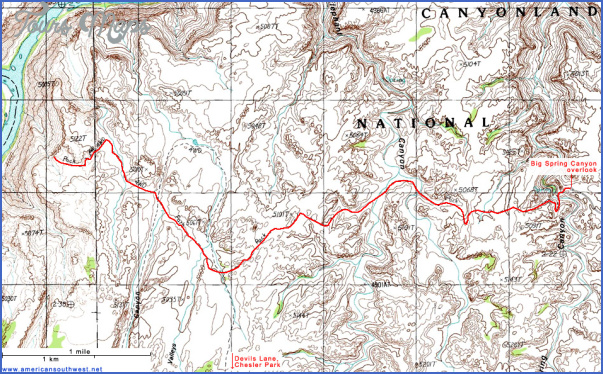 hiking topo maps 9 Hiking Topo Maps