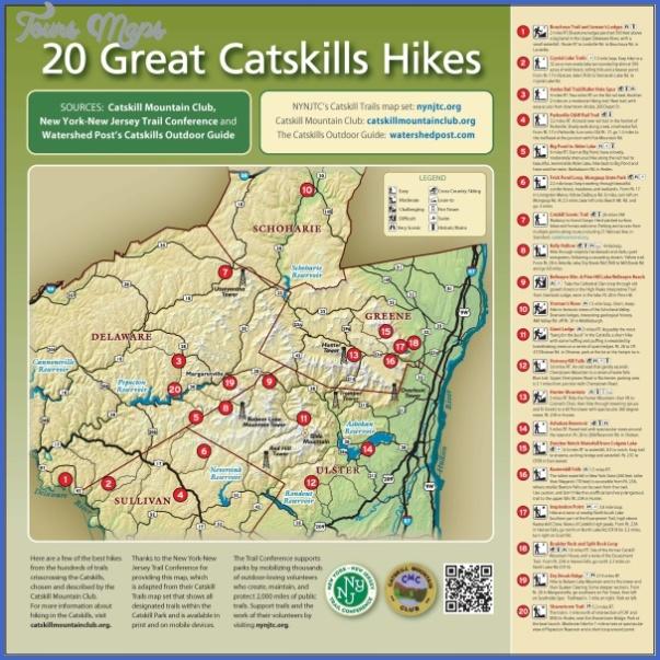 hiking trails map 1 Hiking Trails Map
