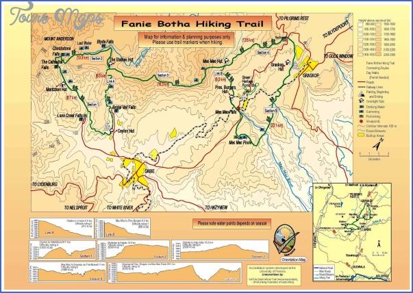 hiking trails map 10 1 Hiking Trails Map