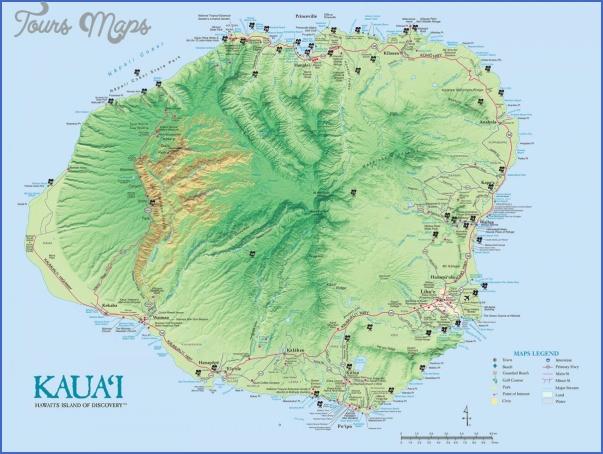 kauai hiking map 14 Kauai Hiking Map