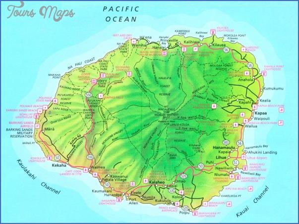 kauai hiking map 2 Kauai Hiking Map