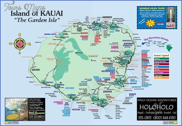 kauai hiking map 8 Kauai Hiking Map