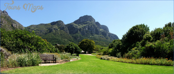kirstenbosch national botanical garden attractions map 2 Kirstenbosch National Botanical Garden Attractions Map