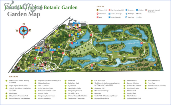 kirstenbosch national botanical garden attractions map 7 Kirstenbosch National Botanical Garden Attractions Map
