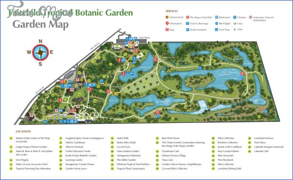 kirstenbosch national botanical garden attractions map 7 Kirstenbosch National Botanical Garden Attractions Map