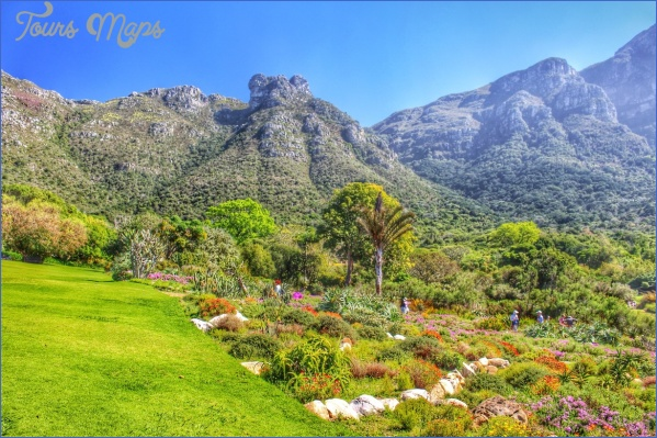 kirstenbosch national botanical garden attractions map 8 Kirstenbosch National Botanical Garden Attractions Map