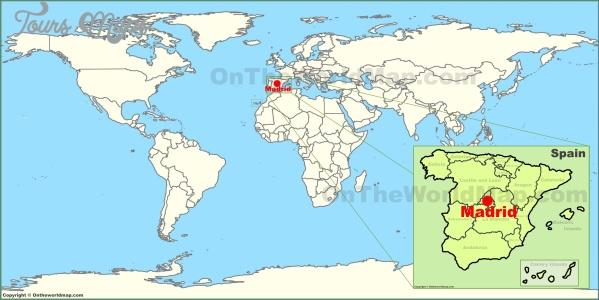 madrid spain map 0 Madrid Spain Map