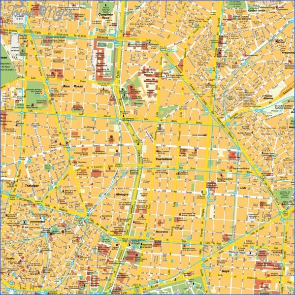 madrid spain map 9 Madrid Spain Map