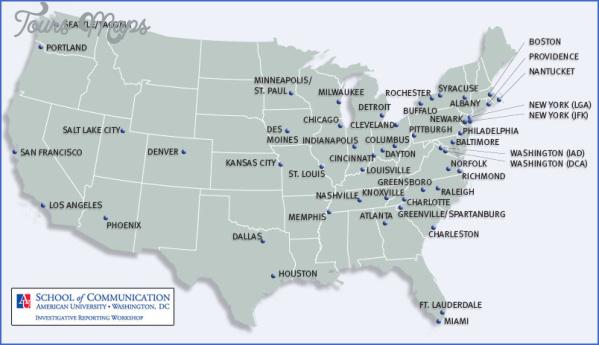 maine usa map airports  3 Maine USA Map Airports