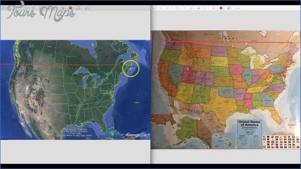 maine usa map google earth  3 Maine USA Map Google Earth