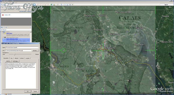 maine usa map google earth  5 Maine USA Map Google Earth
