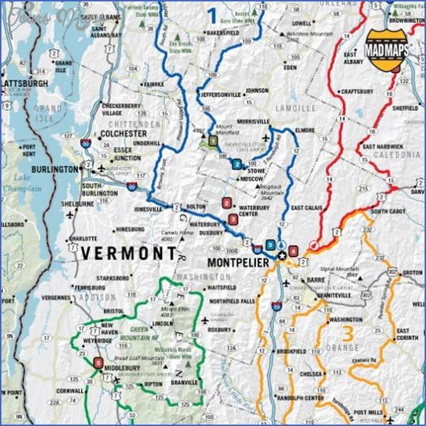 maine usa map road  11 Maine USA Map Road
